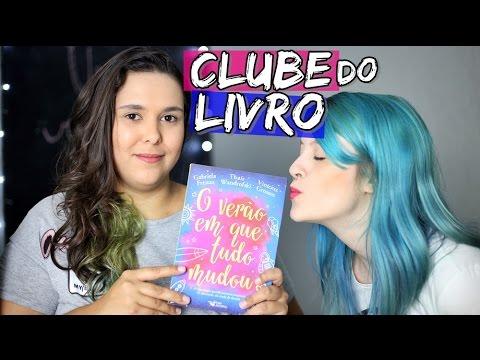 CLUBE DO LIVRO - O VERÃO EM QUE TUDO MUDOU