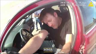 Stephan Bonnar DUI Arrest Police Bodycam Footage   MMA Fighting