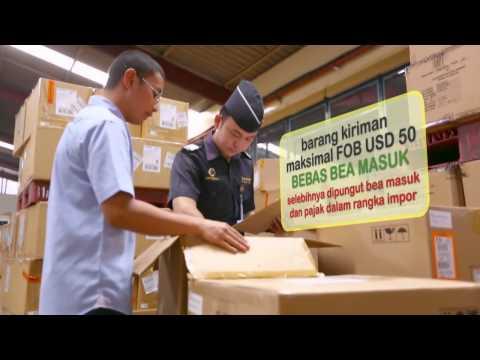 Prosedur Impor Barang Kiriman/ melalui Perusahaan Jasa Titipan ke Indonesia