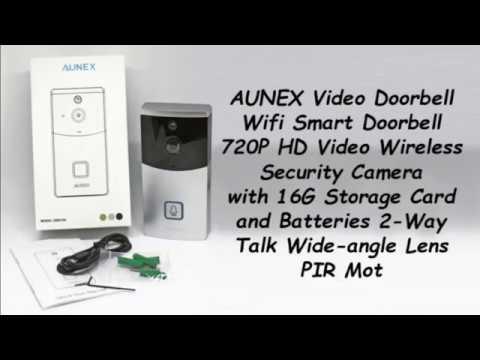 AUNEX Wireless Video Smart Doorbell