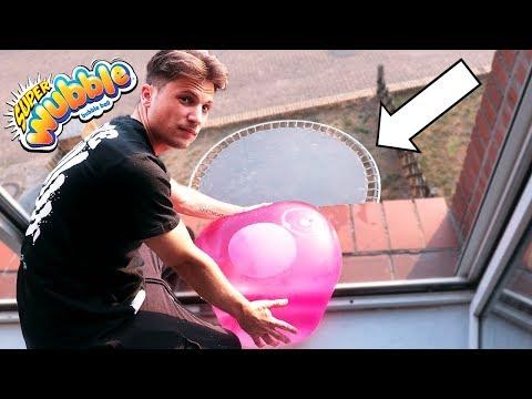Wubble Bubble VS Trampolin - 500cm !!!