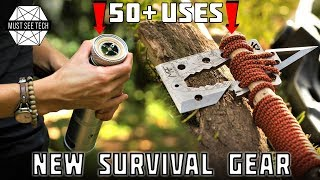 8 New Survival Tools And Innovative Gear For Extreme Camping In 2019