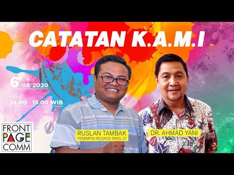 FRONT PAGE | CATATAN KAMI, Dr Ahmad Yani