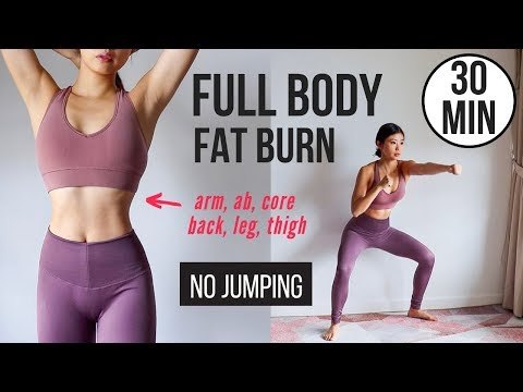 30 min Full Body Fat Burn HIIT (Ingen hopping)