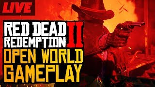 Red Dead Redemption 2 Open World Livestream (No Spoilers)