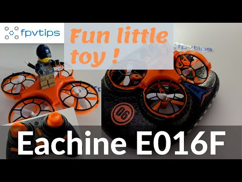 Eachine E016F Hovercraft - Cheap toy grade fun with a drone, boat and hovercraft 3 in 1