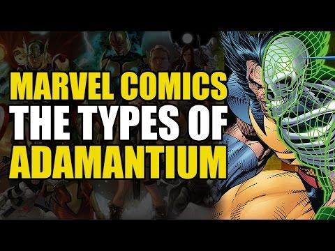 Every type of Adamantium Explained | Comics Explained
