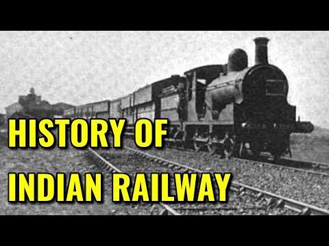 History of indian railway