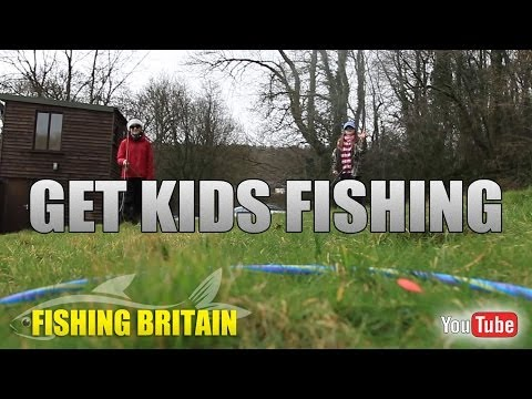 Get kids fishing