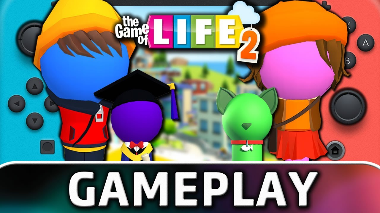 THE GAME OF LIFE 2   Nintendo Switch Gameplay