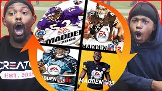 Madden... But Every Quarter We Spin The Wheel To Switch Years!