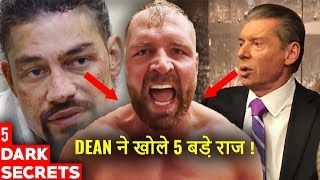 5 Dark Secrets Moxley Revealed After Leaving WWE - Dean Ambrose & Vince McMahon Backstage Secets