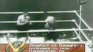 Jack Dempsey vs Gene Tunney, I