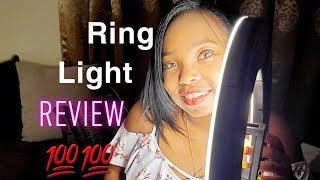 RING LIGHT (Sunpak Ultimate Vlogging Kit ) Review