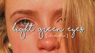 light green eyes // forced subliminal [ request ]