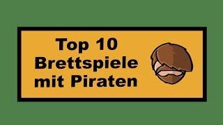 Top 10 Brettspiele mit Piraten - Cron