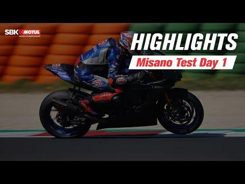 スーパーバイク世界選手権 SBK テストDay ミサノ ハイライト動画