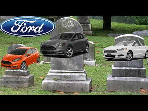 Ford just killed their cars | The death of the American car industry?