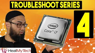 Pt 4 | Troubleshoot A CPU | How To Test A Processor Computer Not Turning On | Pc Turns On No Display