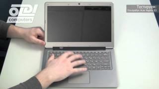 Обзор ультрабука Acer Aspire S3