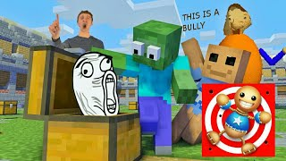 Monster School : MYSTERY BOX FOR BUDDY - Minecraft Animation