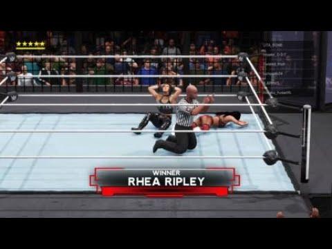 WWE 2K20 Elimination Chamber Online Match - Rhea (Me)