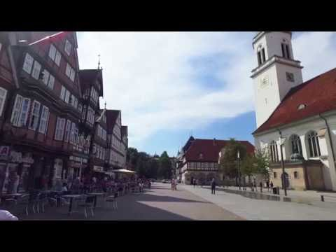 A walking tour of Celle, Germany