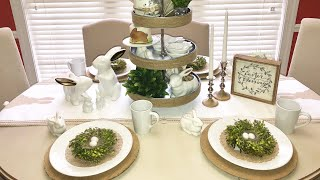 Christ Centered Easter Tablescape