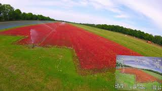 FPV 449 - Diatone Rome F4 LR Flighttime with 18650 4s 2600mAh, GPS, Range, Water and Rescue Test
