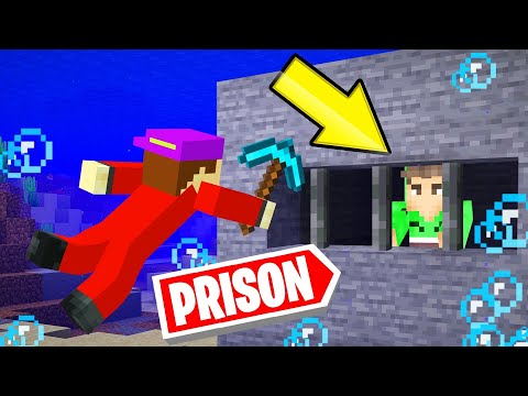 BREAK OUT Of This UNDERWATER MINECRAFT PRISON!