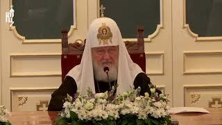 Патриарх Кирилл возглавил заседание Попечительского совета по восстановлению Валаамского монастыря