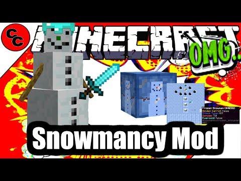 "Minecraft Mods: "" Snowmancy Mod  1.12.2 """