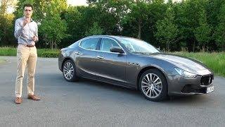 Maserati Ghibli Diesel test drive review 275 hp - Autogefühl