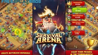 Survival Arena Gameplay Android / iOS