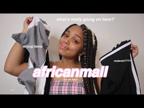 african mall try on haul (actually HONEST lol)