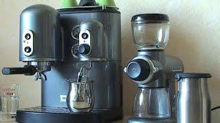 Kitchenaid Espressomaschine Kaffeemühle Latte Macchiato selber machen