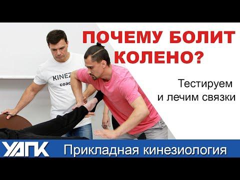 Почему болит колено? Лечим связки (Часть 1)