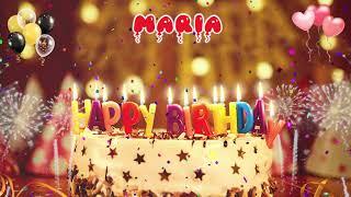 MARIA Birthday Song – Happy Birthday Maria (Μαρία)