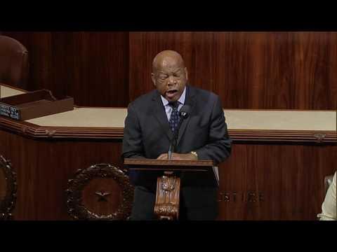 Rep. John Lewis Speaks on Gun Violence