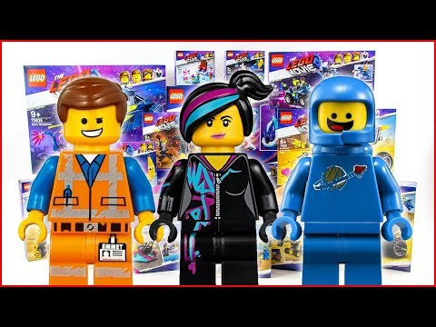 ALL LEGO MOVIE 2 All Minifigures COMPILATION 2019 Unboxing Speed Build