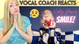 Vocal Coach Reacts: KATY PERRY 'Smile' KP5 Title Track!