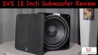 SVS SB-1000   12 Inch Sealed Subwoofer Review