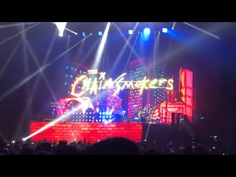 THE CHAINSMOKERS JAPAN TOUR 2018 Makuhari Messe