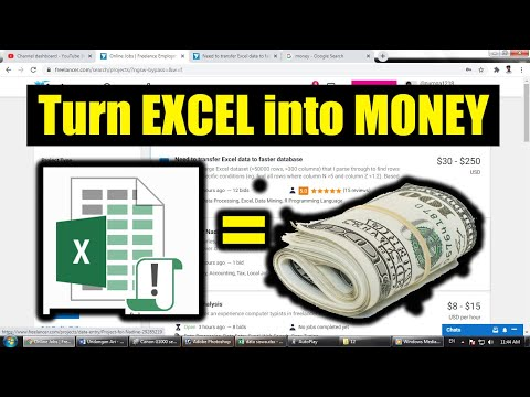 How to Make money with EXCEL VBA 2021?