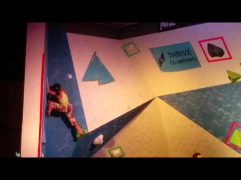 Total control, inner peace. Ashima at the Tristate Bouldering Championship 2016
