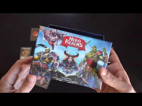 Hero Realms bemutató videó