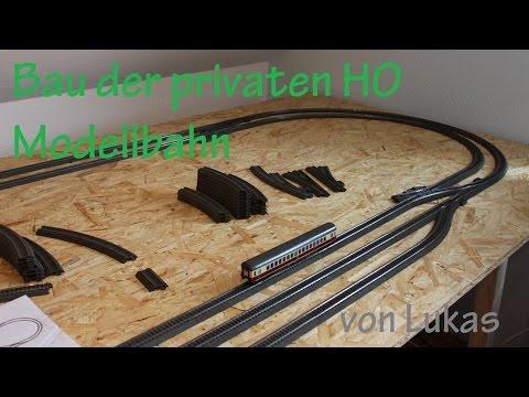 Bau der privaten Märklin H0 Modellbahnanlage von Lukas #04 (Schienen verlegen)