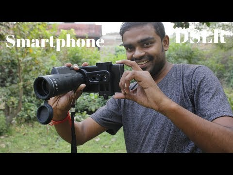 Turn Your Smartphone into DSLR – Smartphone Zoom Lens – Telescope Review & Unboxing 🔥🔥🔥