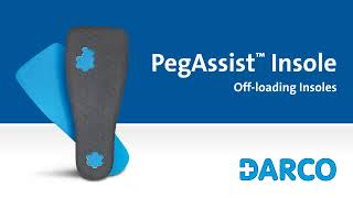Video: Darco PegAssist Offloading Insole - PQ Series