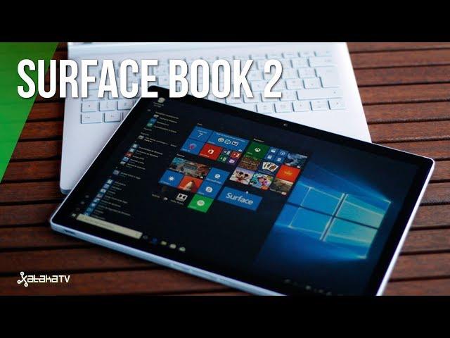 Surface Book 2, análisis